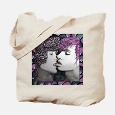 Midnight Kiss - colorful fram Tote Bag