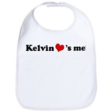 Kelvin loves me Bib