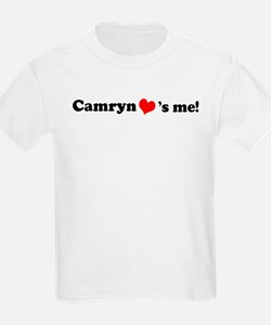 Camryn loves me Kids T-Shirt