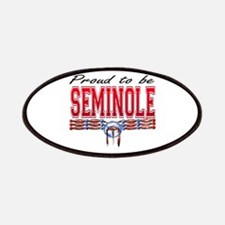 Proud to be Seminole Patches