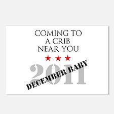 December Baby Postcards (Package of 8)