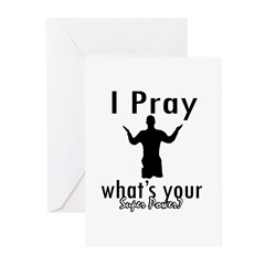 Great Christian inspirational design Greeting Card