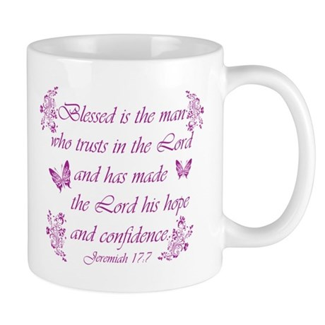 Inspirational Christian quotes Mug