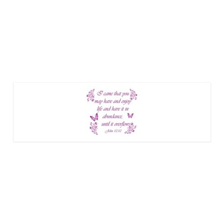 Inspirational Christian quotes 21x7 Wall Peel