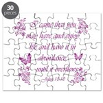 Inspirational Christian quotes Puzzle
