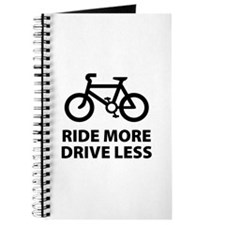 Ride more Drive less Journal