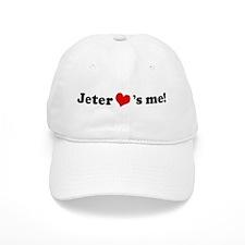 Jeter loves me Baseball Cap