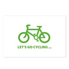 Let's go cycling ... Postcards (Package of 8)