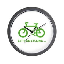 Let's go cycling ... Wall Clock