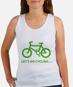 Let's go cycling ... Women's Tank Top