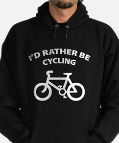 I'd rather be cycling Hoodie