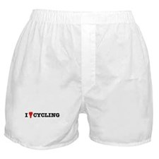 I Love Cycling Boxer Shorts
