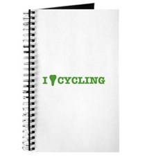I Love Cycling Journal
