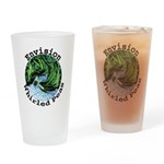Envision Whirled Peas Drinking Glass
