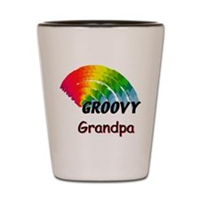 Groovy Grandpa Shot Glass