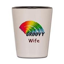 Groovy Wife Shot Glass