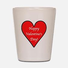 Valentine's Day Heart Shot Glass