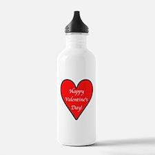 Valentine's Day Heart Water Bottle
