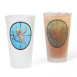 Target Cupid Drinking Glass