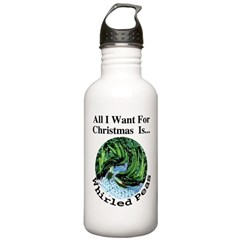 Christmas Peas Water Bottle