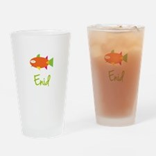 Enid is a Big Fish Drinking Glass