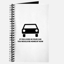 Live in your car Journal