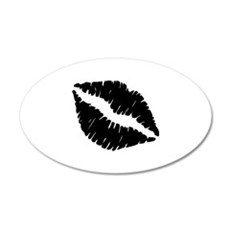 Kiss 22x14 Oval Wall Peel