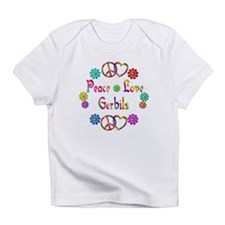 Peace Love Gerbils Infant T-Shirt
