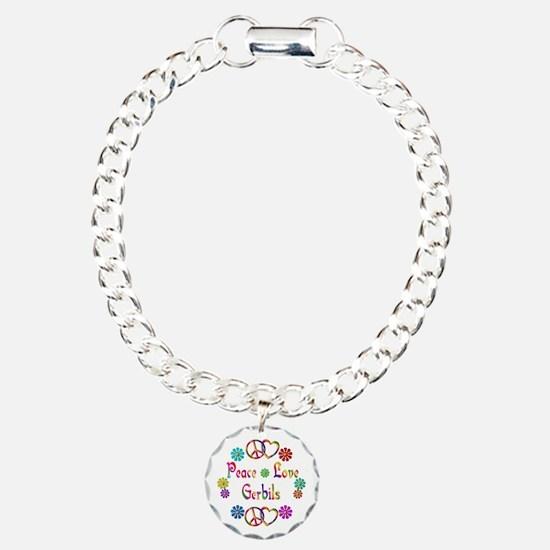 Peace Love Gerbils Bracelet