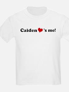 Caiden loves me Kids T-Shirt