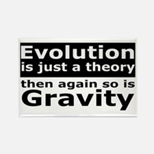 Evolution Is A Theory Like Gravity Rectangle Magne