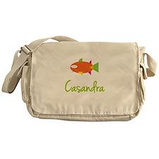Casandra is a Big Fish Messenger Bag