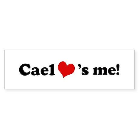 Cael loves me Bumper Sticker