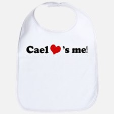 Cael loves me Bib