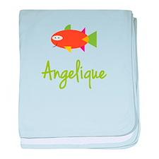 Angelique is a Big Fish baby blanket