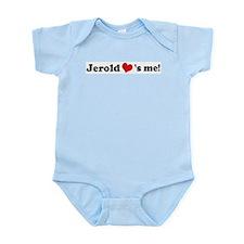 Jerold loves me Infant Creeper