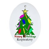 Respiratory therapist ornament Ornaments