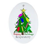 Respiratory therapist ornament Ornaments
