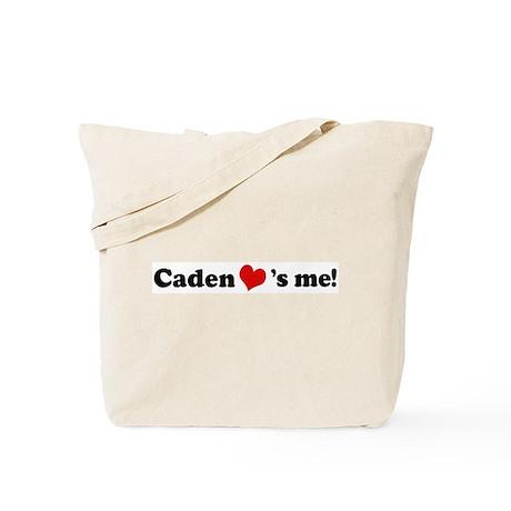 Caden loves me Tote Bag