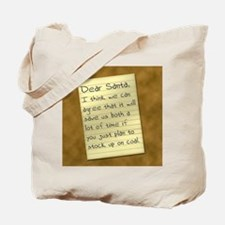 Stock Up On Coal Tote Bag