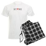 NY hearts ME (TM) Men's Light Pajamas