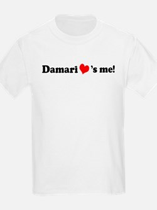 Damari loves me Kids T-Shirt