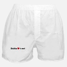 Dallin loves me Boxer Shorts