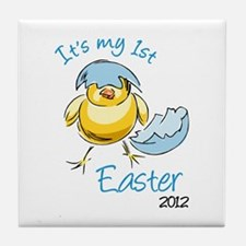 It's My First Easter '12 Tile Coaster
