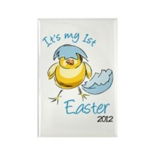 It's My First Easter '12 Rectangle Magnet