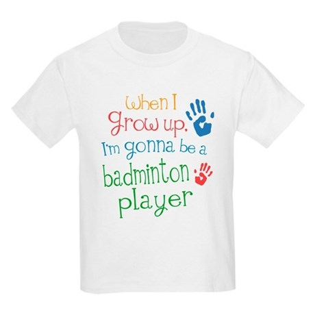 Kids Future Badminton Player Kids Light T-Shirt