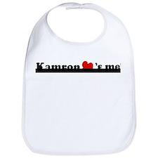 Kamron loves me Bib