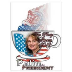 Palin for President Canvas Art