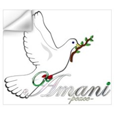 Amani - Peace Wall Decal