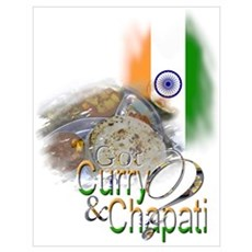 Got Curry & Chapati? Poster